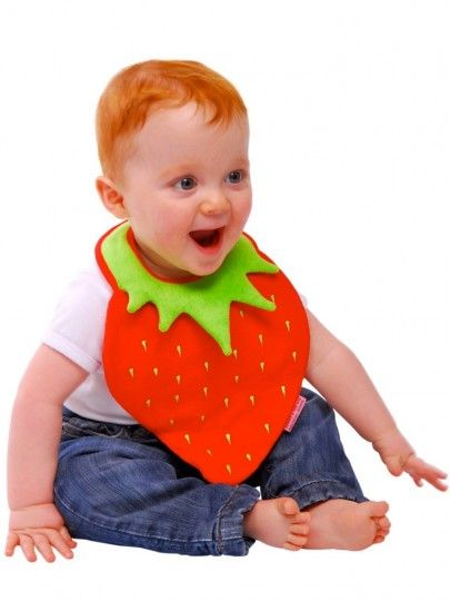 Strawberry Bib | Baby Bibs | Babski Baby | Leading Online Baby Product Retailer