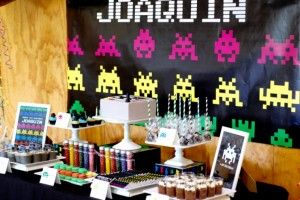 Joaquni's Space Invader Party - More