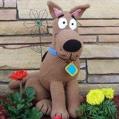 Scooby Doo amigurumi crochet pattern by Erin's Toy Store