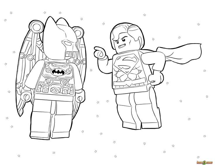 Batman And Superman Coloring Pages Miakenasnet