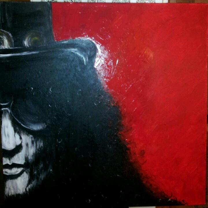 Maleri av Slash!