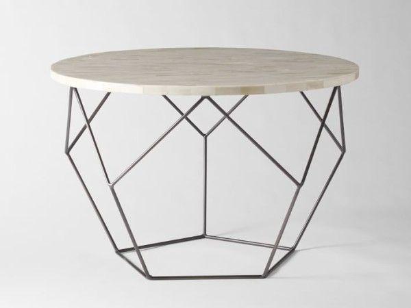 Výsledek obrázku pro kovový konferenční stolek