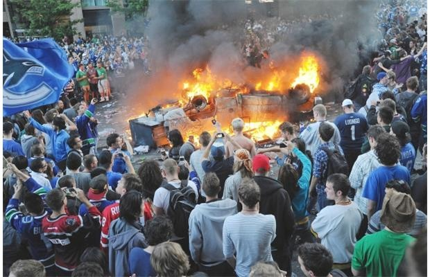 social media case study the stanley cup hockey riots