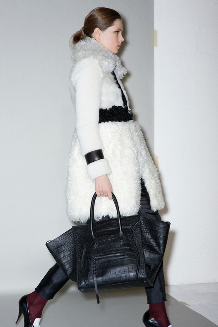 Celine Pre-Fall 2011  How fabulous is that bag?!