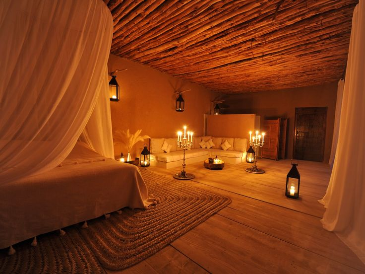 Romantic hotel bedrooms