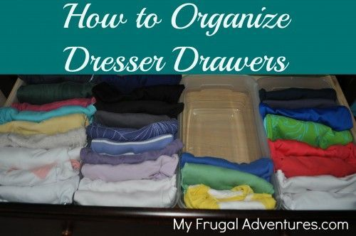 get organized organizing children 39 s clothing organize dresser drawers and organize dresser. Black Bedroom Furniture Sets. Home Design Ideas