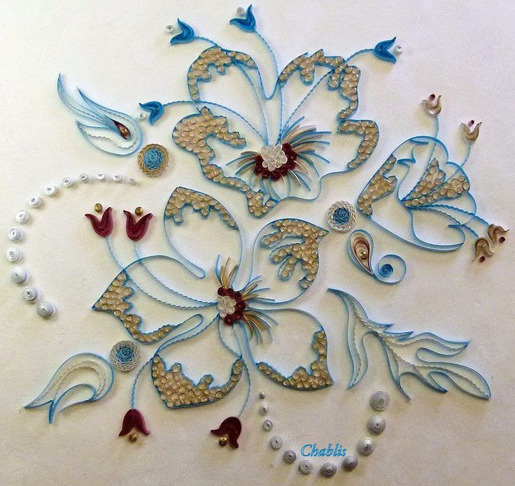 Quilling for beginners quilling vk quilling for Quilling designs for beginners