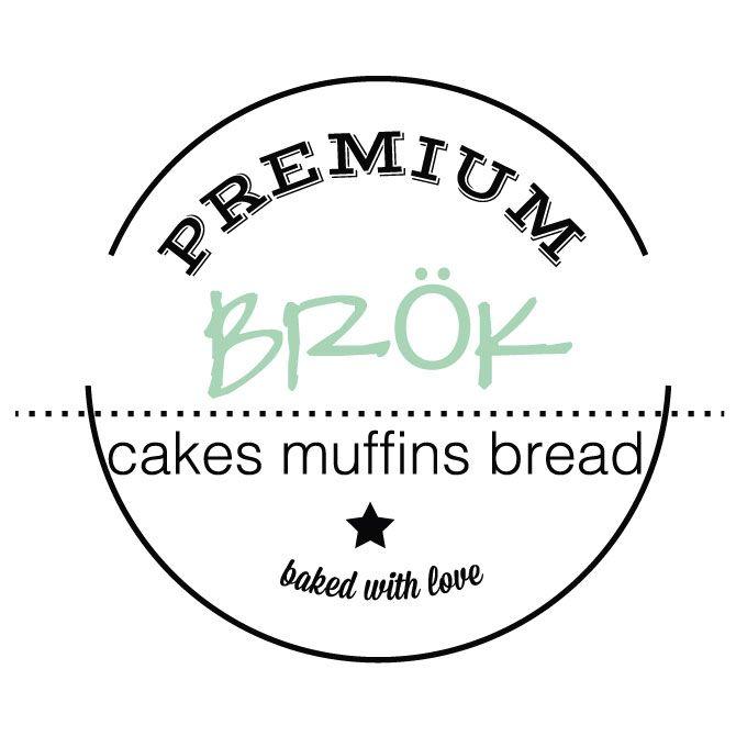 Diseño Imagen de marca y logotipo para Premium Brök | Cakes - Muffins - Bread. Baked with love.  www.mandarinoecioccolato.com