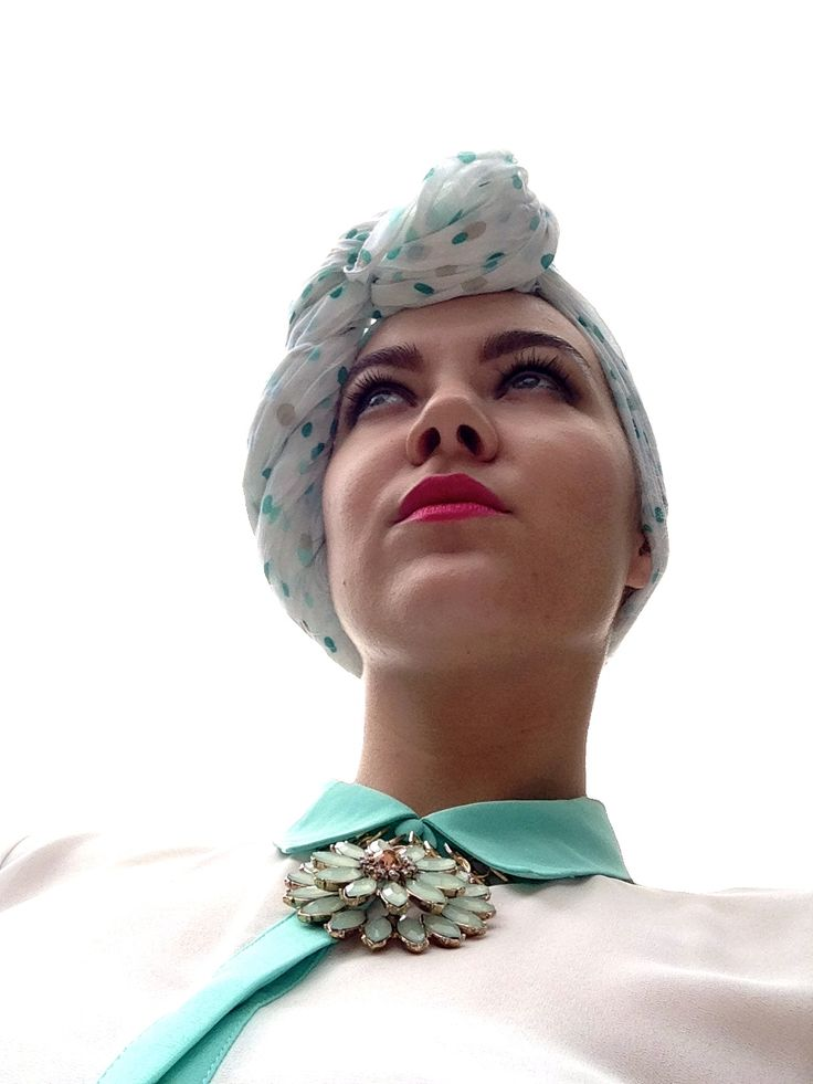 Some of my recent turban variations | November 13 | Shanghai | More on www.nellibolibo.com under Minty Mania II
