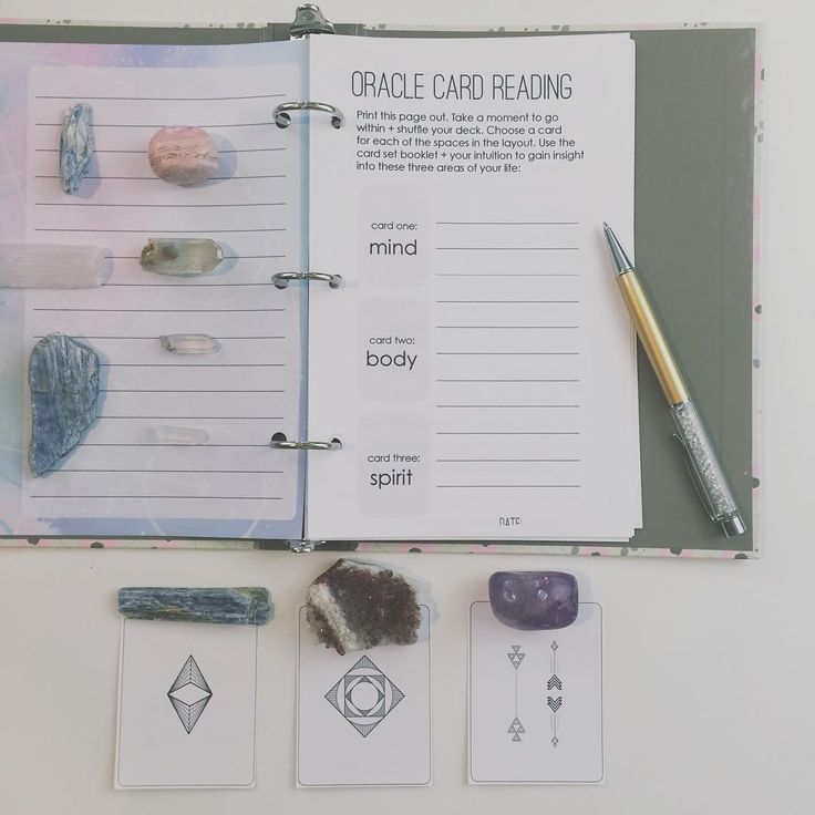 #5daysofritual Day 3 - oracle card reading . I love journaling my card readings to get more clarity. Here's the worksheet + printable card set for today's ritual to help you do a card reading even if you've never done one before! . You can still sign up for FREE + join us you'll get all the content from the last few days too so you won't miss anything. . Click the link in my profile to join us + download the beautiful workbook + preview of The Holistic Planner FREE with enrollment!