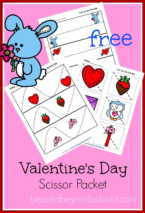 FREE Valentines Prek Pages