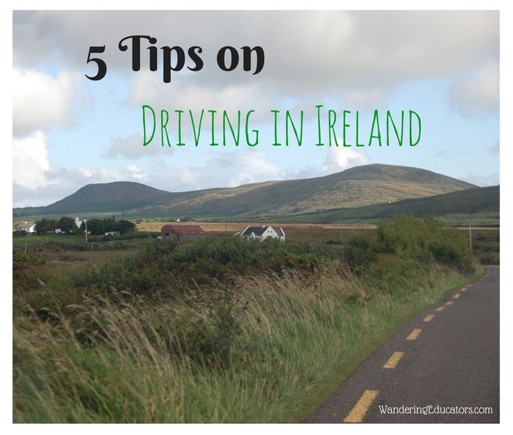 Drivings, 5 Tips on Driving in Ireland