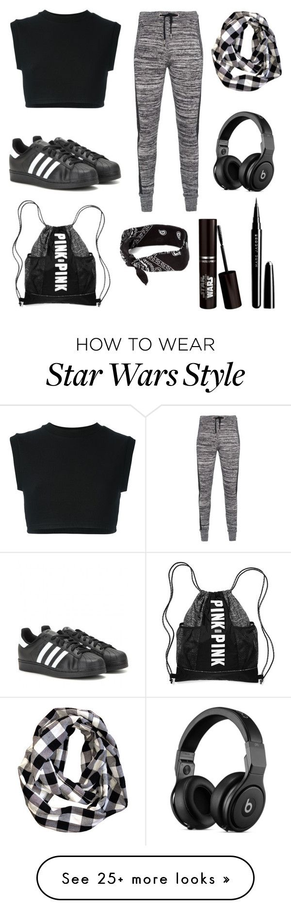 Untitled #198 by bethsalash on Polyvore featuring adidas Originals, adidas, Zoe Karssen, claire's and Marc Jacobs