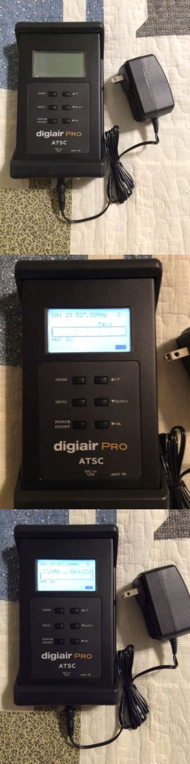 Signal Finders: Solid Signal Digiair Pro Atsc Tv Hdtv Antenna Signal Meter Spectrum Analyzer -> BUY IT NOW ONLY: $325 on eBay!