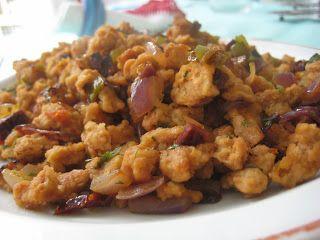La cocina de valduecina: Soja texturizada con verduritas