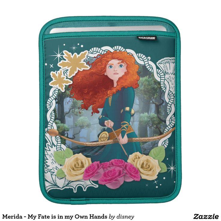 Merida - My Fate is in my Own Hands iPad Sleeve #funda #sleeve