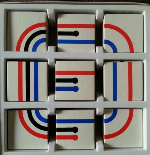 I used to have this :) would look great framed up . Vintage / Retro CONNECT Card Matching Game GALT TOYS 1970's Pop art