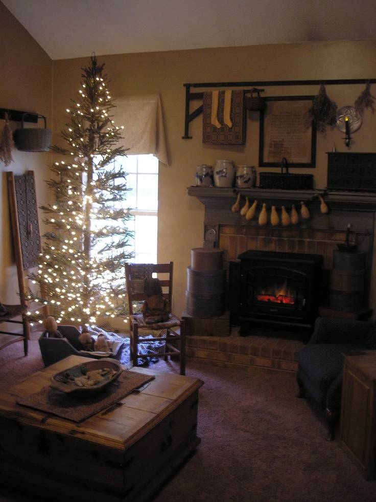 Taylors Farmhouse Attic Winter Christmas Decorating