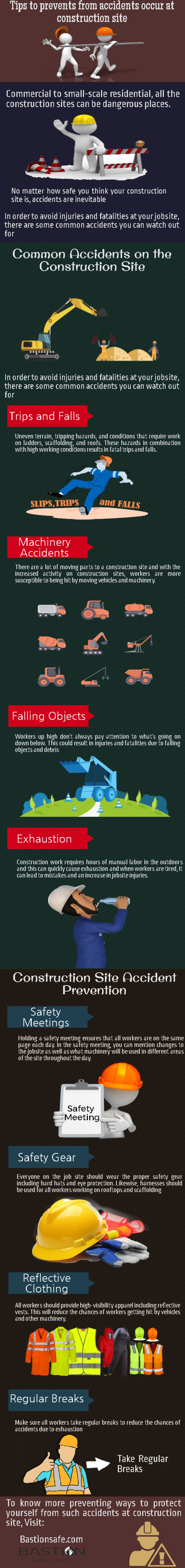 Tips to prevent from accidents occur at construction site #workplacesafety #oninesafetytraining