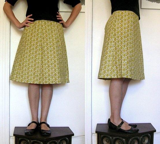 Jezze Prints: Seven-panel skirt    http://jezzeblog.blogspot.com/2011/01/seven-panel-skirt.html