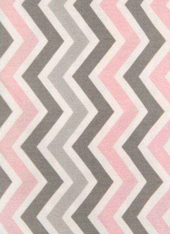 chevron pink and grey chevron..Avah's color scheme and accent for her bedroom!