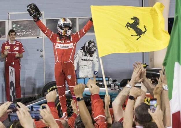 SUPER VETTEL PRIMO NEL GRAN PREMIO DEL BAHRAIN Leggi http://www.giornalepop.it/super-vettel-primo-nel-gran-premio-del-bahrain/