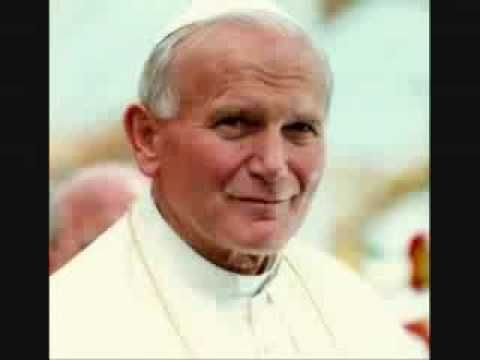 Jesus Christ, You Are My Life. Miss St. John Paul very much!!!! St John Paul pray for Pope Francis!