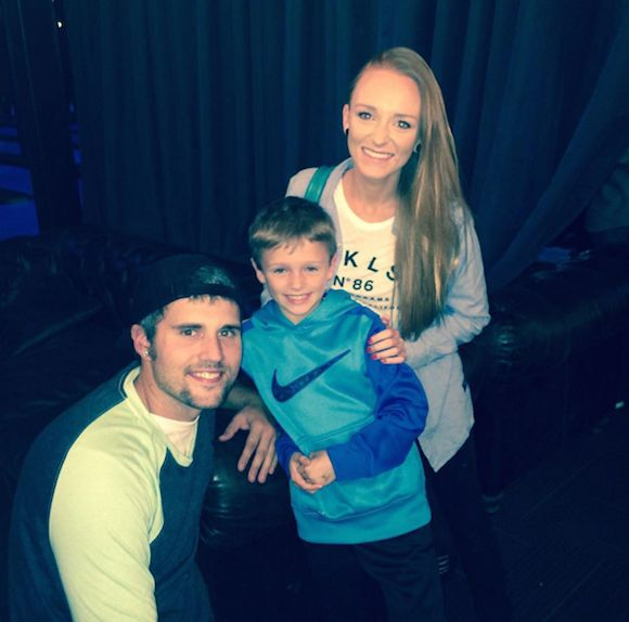 Teen Mom's Maci Bookout & Ex Ryan Edwards Come Together To Celebrate Bentley's Birthday!