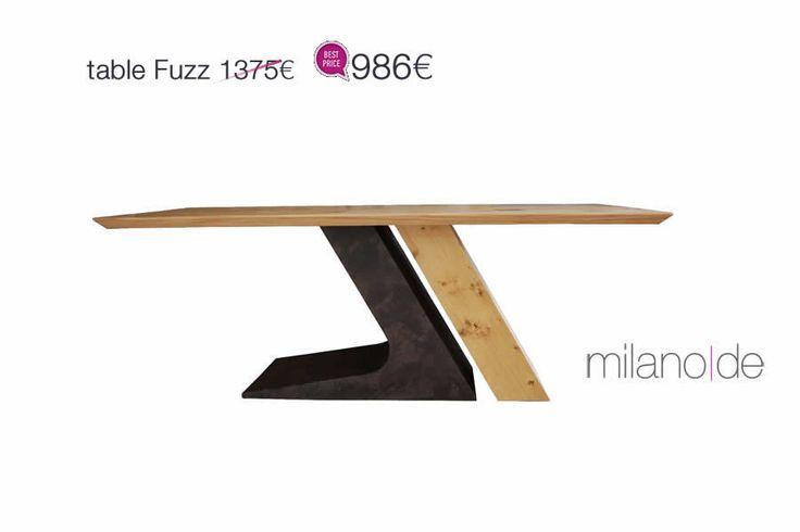 Μοντέρνος και επιβλητικός σχεδιασμός, με δυνατό χαρακτήρα για το τραπέζι Fuzz. Οργανικές φόρμες, εναλλακτικό design σε μια μεγάλη γκάμα επιλογών.  #Table #Fuzz #Tables #Furnitures #Sales #Milanode