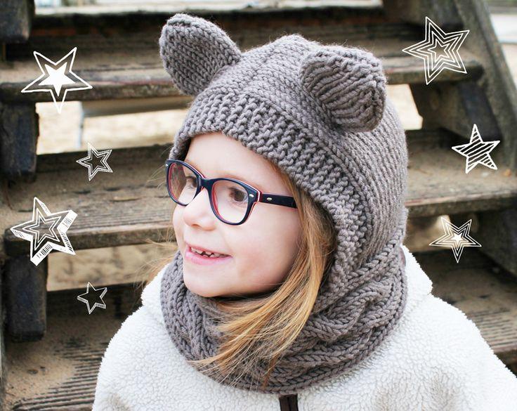 Schalmütze mit Ohren stricken - kreativ-welt.de