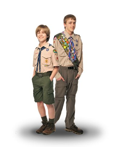 Boy Scouts of America Uniform - official site to know where to fasten the patches