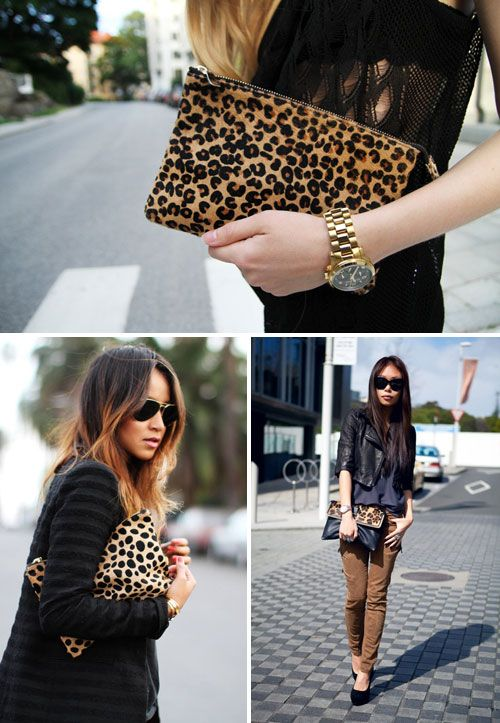 THE STYLE LOVES: THE LEOPARD CLUTCH