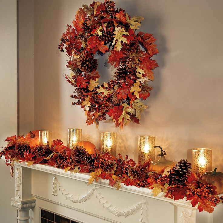 1000 images about fall decor on pinterest mercury glass for Autumn party decoration ideas