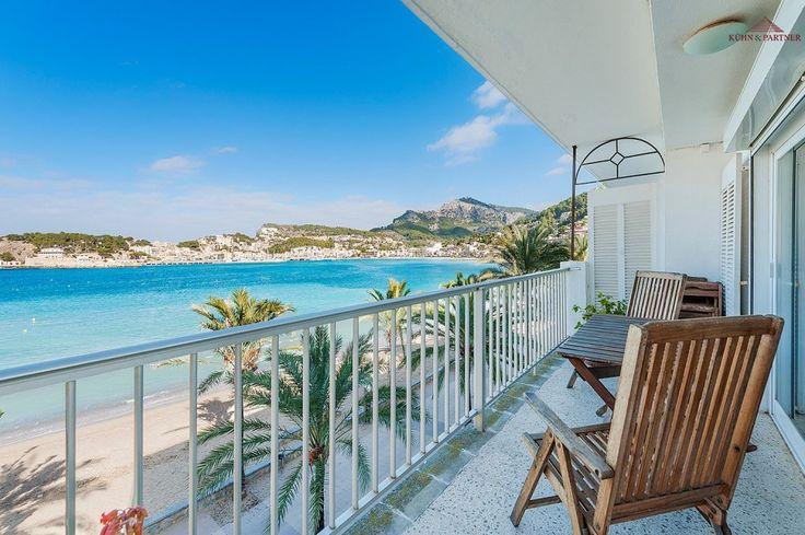 terrace apartment in Puerto de Soller