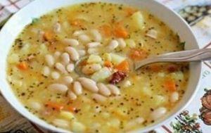 Крестьянский фасолевый суп | Кулинарный помощник