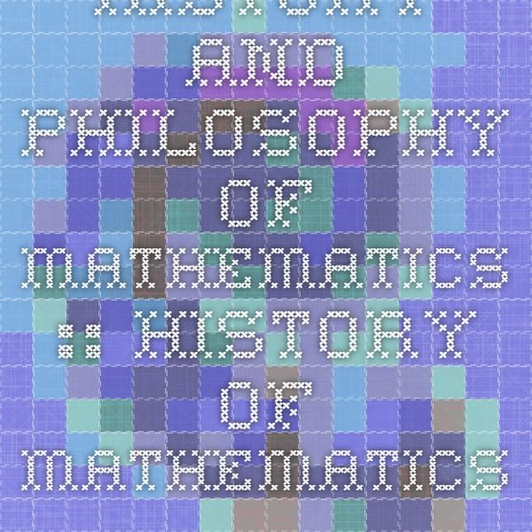 History and Philosophy of Mathematics :: History of mathematics : nrich.maths.org