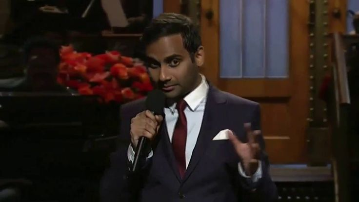 SNL Hosts Aziz Ansari Monologue Targeted Trump, Racists 01/21/2017