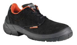 Sapato S3 com sola anti-perforação em alta resistêcia textil. Resistente à água.