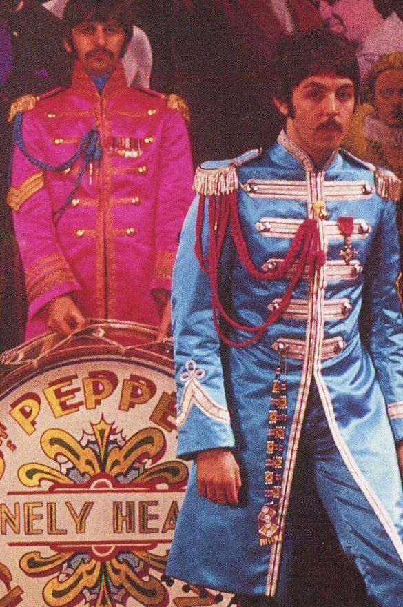 Image result for paul mccartney sgt peppers