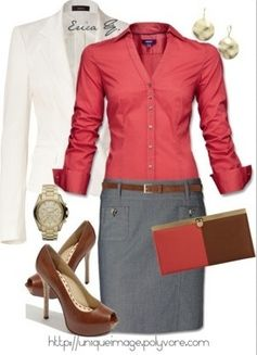 perfect fun, classy, professional outfit!