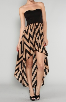 'Arrows make me happy' Mullet Dress