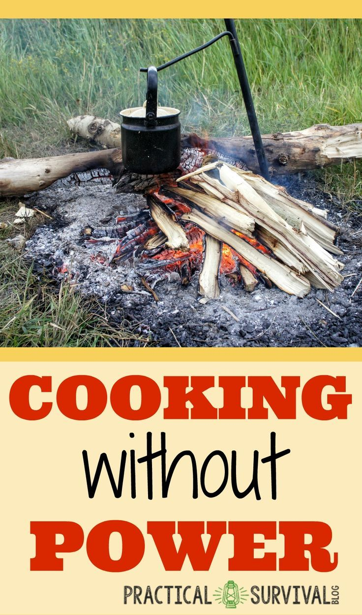 Cooking without a stove - Survival Cooking How To Cook Without Power