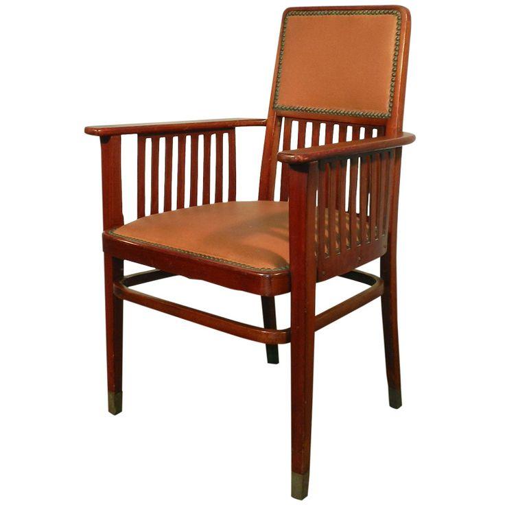 Arm Chair By Joseph Hoffmann 1905