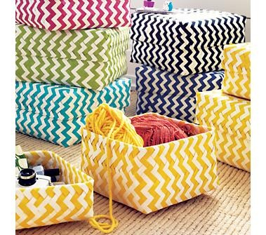 Love these chevron baskets.Storage Boxes, Kids Room, Closets Storage, Storage Bins, Storage Baskets, Storage Container, Chevron Stripes, Toys Storage, Kids Storage