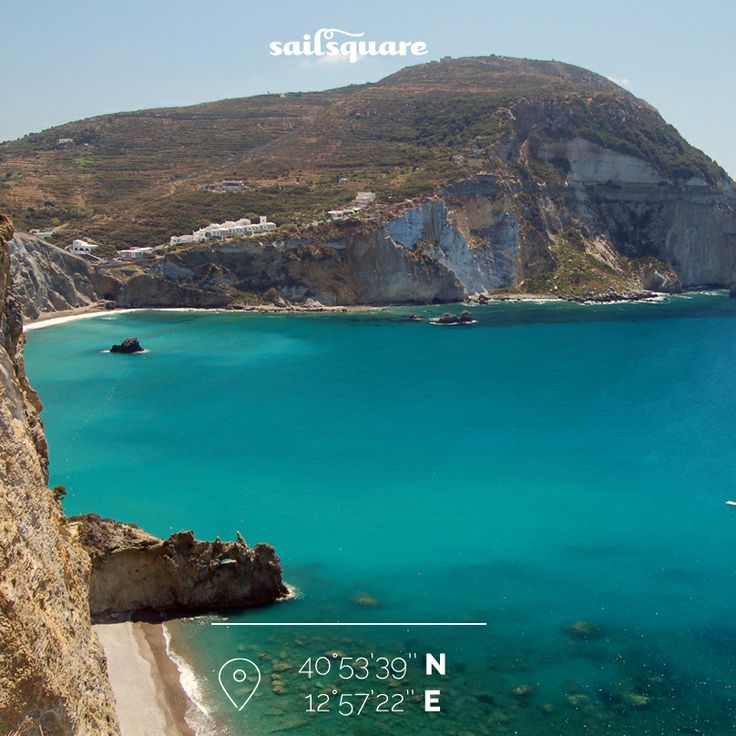 Chiaia di Luna – Ponza. Given that it's a wonderful place, we add that in the past it was a Greek harbour, and nowadays it's still likely to find some remains and ancient amphora.  #sailing #discovery #Ponza