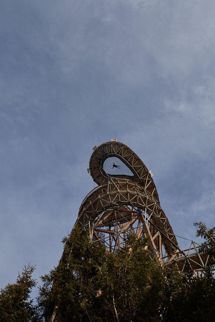 Une pittoresque Vue panoramique en République tchèque avec un toboggan de 100 Mètres (3)
