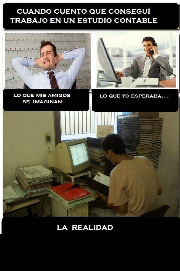 Memes sobre ser un contador