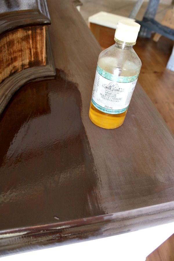 Hometalk :: Easiest Staining Technique Using Milk Paint.  Or use instant coffee and water as one of the commenters said.