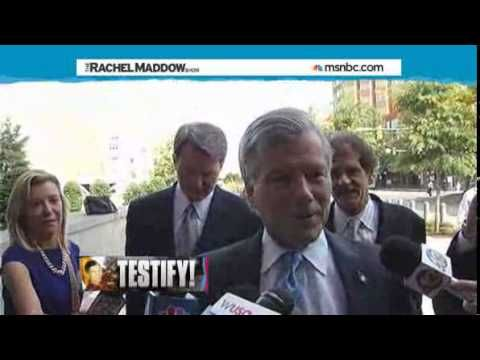 Rachel Maddow - McDonnell turns on wife on witness stand