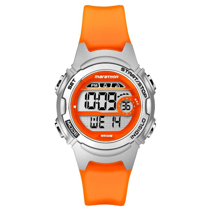 Women's Marathon by Timex Digital Watch - Orange TW5K96800TG